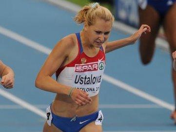 Ксения Усталова и Валентин Кругляков - чемпионы России в помещении в беге на 400м