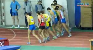 1500м мужчины Чемпионат Украины в помещении 2013 - Сумы