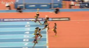 Murielle AHOURE 6.99 - 60m - Birmingham Indoors 2013