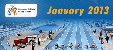 Лучшие легкоатлеты января - Голосование