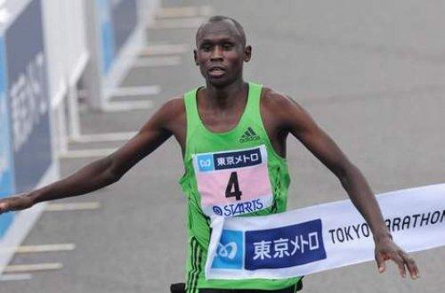 Аберу Кебеде и Деннис Киметто - победители Токийского марафона