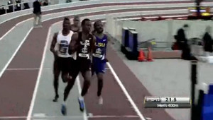Deon Lendore Stuns With 45.15 sec. in 400m at the 2013 SEC Indoor Championships!