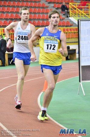 Александр Венгловский и Инна Кашина победители чемпионата Украины по спортивной ходьбе +Фото