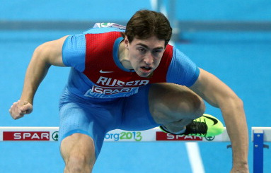Сергей Шубенков с первым временем вышел в полуфинал на чемпионате Европы в помещении в Гетеборге +Видео