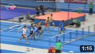 60m Hurdles Men Round 1 - Heat 4 - European Athletics Indoor Chamionshpis, Goteborg 2013