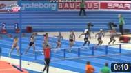 60m Hurdles Women Round 1 - Heat 3 - European Athletics Indoor Chamionshpis, Göteborg 2013