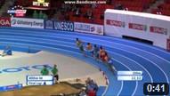 400 m Men Round 1 - Heat 1 - European Athletics Indoor Chamionshpis, Göteborg 2013