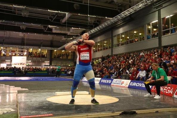 Видео - Толкание ядра - Мужчины - Квалификация - Чемпионат Европы 2013 в помещении - Гетеборг