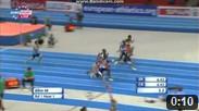 60 m Men Round 1 - Heat 1 - European Athletics Indoor Chamionshpis, Göteborg 2013