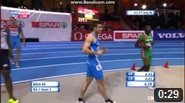 60 m Men Round 1 - Heat 3 - European Athletics Indoor Chamionshpis, Goteborg 2013