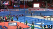 800 m Women Round 1 - Heat 3 - European Athletics Indoor Chamionshpis, Goteborg 2013