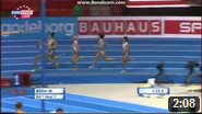 800 m Women Round 1 - Heat 2 - European Athletics Indoor Chamionshpis, Goteborg 2013