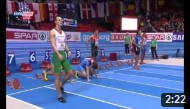 60m Hurdles Men Final - European Athletics Indoor Chamionshpis, Goteborg 2013