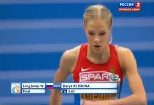 Дарья Клишина 7.01 - Чемпионат Европы в помещении - Гетеборг