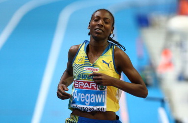 Абеба Арегави - чемпионка Европы в беге на 1500м в Гетеборге +Видео