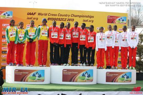 Кенийцы Корир и Чебет победили на чемпионате Мира по кроссу в Быдгоще