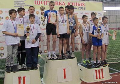 «Шиповки юных» в Казани - Итог