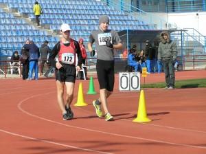В Заозерном соревновались мастера спортивной ходьбы из Украины и Молдовы