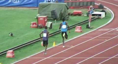 Клеберсон Давид установил лучший результат сезона в мире в беге на 800 м