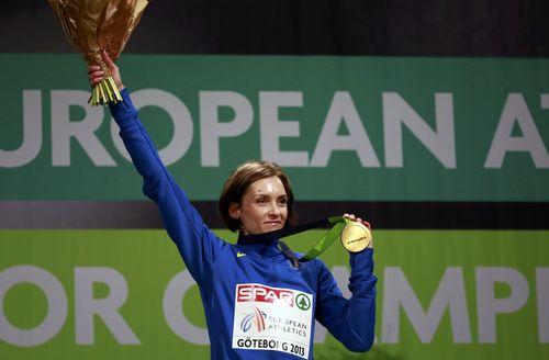 НОК Украины назвал Ольгу Саладуха лучшей спортсменкой марта