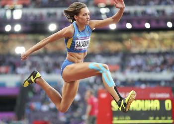 Ольга Саладуха - лучшая спортсменка Украины в марте