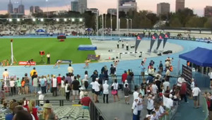 800m Women - Melbourne World Challenge 2013