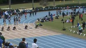 Octavious Freeman 100m World Leade at Florida Relays 11.02