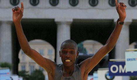 Кенийские бегуны заняли весь подиум на юбилейном 30-м Венском марафоне