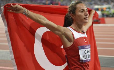 В пробе олимпийской чемпионке-2012 турчанке Аслы Алптекин найден допинг