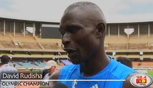 David Rudisha 45.15 second 400m PB Nairobi, Kenya