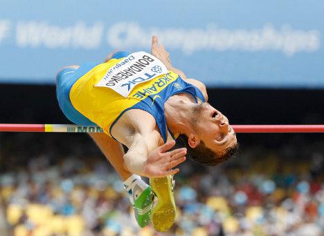 Богдан Бондаренко – победитель первого этапа «Бриллиантовой лиги 2013» в прыжках в высоту в Дохе