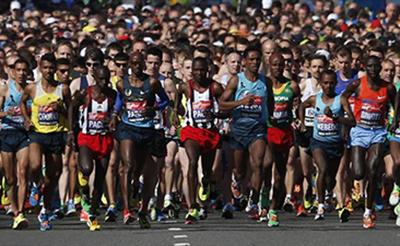 Бег не туда. 5000 марафонцев отклонились от маршрута