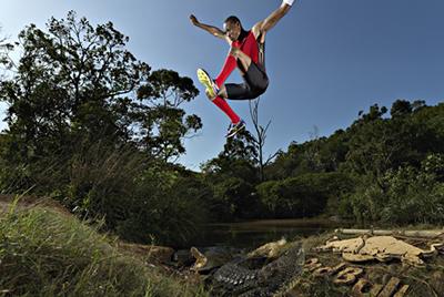 Операция Дэя Грина и прыжок Хотсо Мокоена через реку с крокодилами