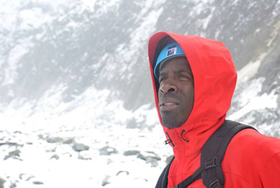 Двэйн Чемберс провел подготовку в Альпах