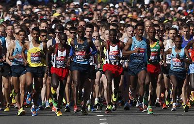 В Канаде марафонцы установили мировой рекорд, попав в Книгу Гиннесса