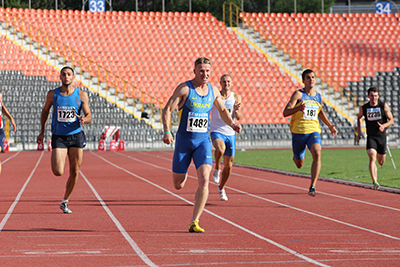 Чемпионат Украины - 200м финал Мужчины - Донецк 2013
