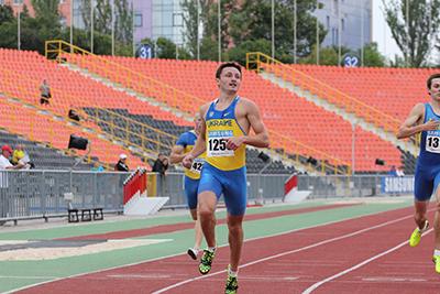 Чемпионат Украины - 400м финал Мужчины - Донецк 2013