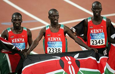Сборная Кении не может вылететь в Москву
