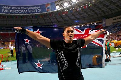 Чемпионат мира 2013 - Толкание ядра - Женщины + Видео