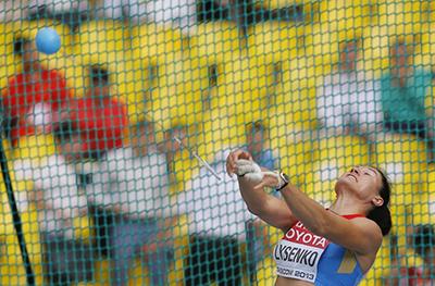 Чемпионат мира 2013 - Метание молота - Женщины + Видео
