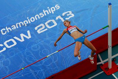 Чемпионат мира 2013 - Прыжки в высоту – Женщины + Видео