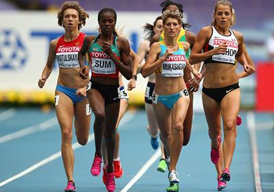 Чемпионат мира 2013 - 800 м - Женщины + Видео