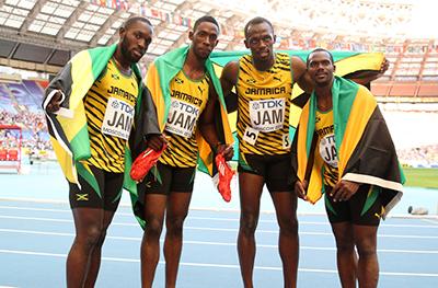 Чемпионат мира 2013 - 4х100 м - Мужчины + Видео