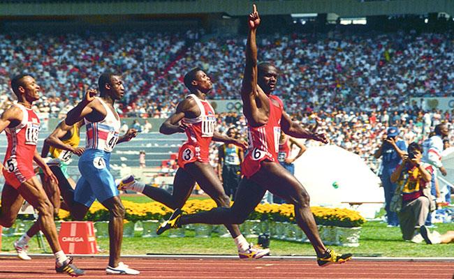 Судьба финалистов на 100 м Олимпиады 1988 года