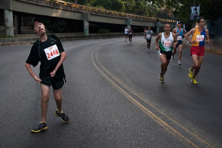 Чикагский марафон с тяжелой болезнью + Видео