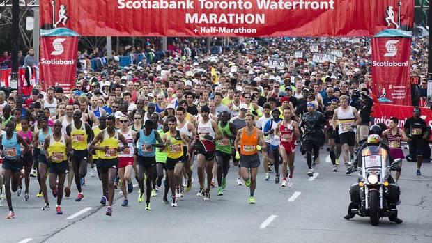 Дересса Чимса выиграл марафон в Торонто