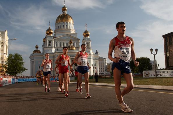 В Саранске возводят центр олимпийской подготовки по ходьбе