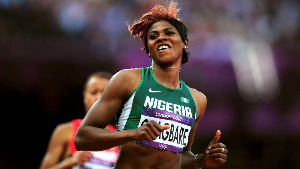 Блессинг Окагбаре лучшая спортсменка года в Нигерии