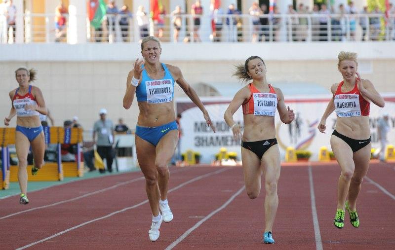 Легкоатлеты в Сочи 2014
