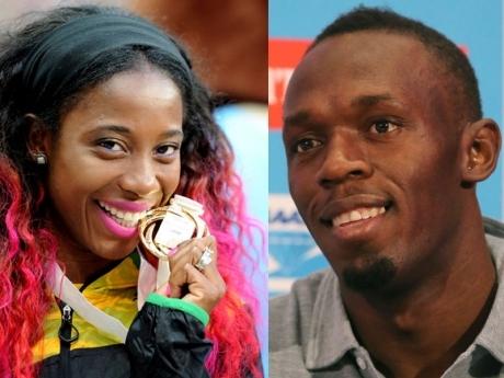 Усэйн Болт и Шелли-Энн Фрейзер-Прайс - лучшие легкоатлеты Ямайки в 2013 году